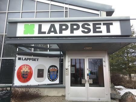 Lappset company in Rovaniemi. DF Photo.