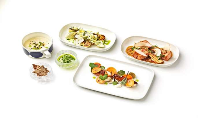 New foods in Finnair´s Italy routes marking centenary