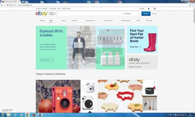 Cross-border online shopping ups in EU