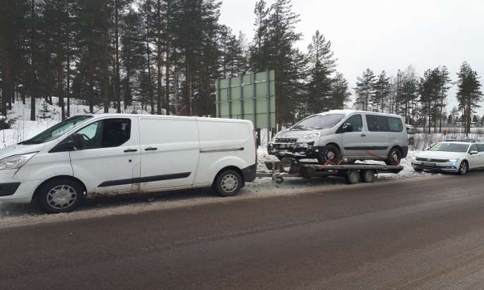 14 killed in road mishaps in February