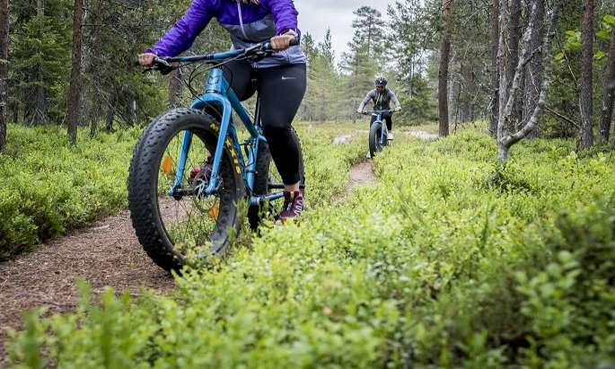 Ounasvaara offers exquisite biking experience