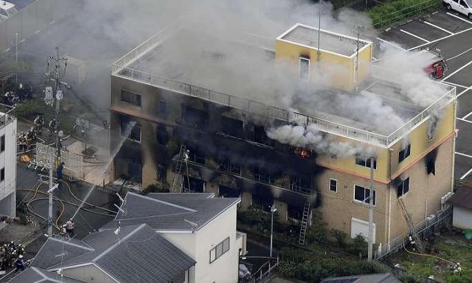 33 dead in animation studio fire in Japan
